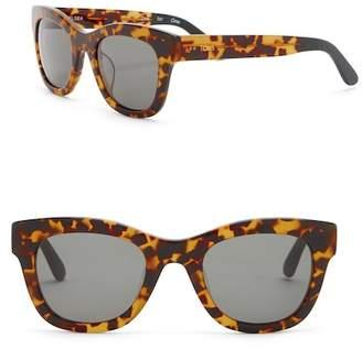 Toms Chelsea 50mm Havana Tortoise Sunglasses