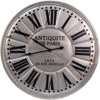 American Mercantile 44.5 Metal Clock