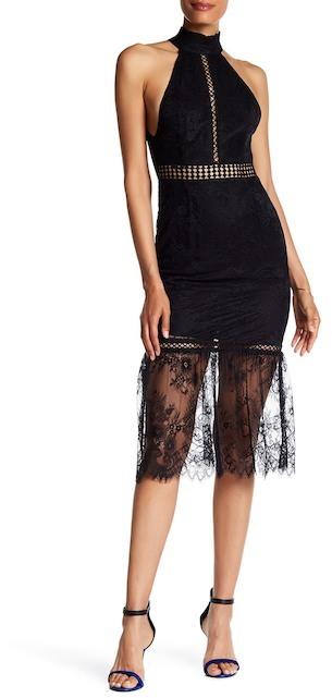 ABS By Allen SchwartzABS by Allen Schwartz Victorian Lace Midi Dress
