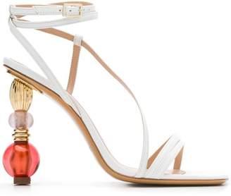 Jacquemus jewelled sandals