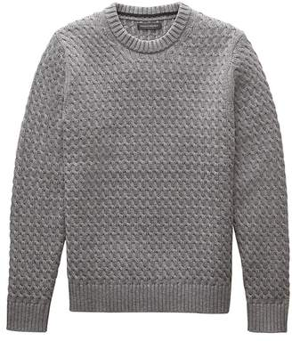 Banana Republic Cotton Cable-Knit Sweater