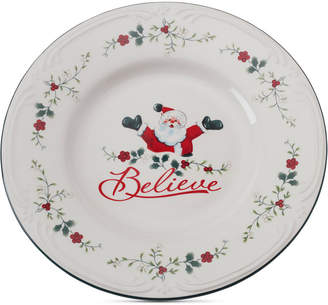 Pfaltzgraff Winterberry Believe Round Platter
