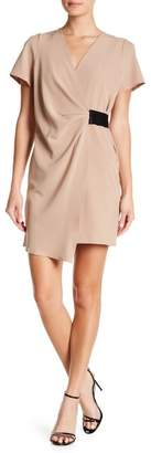 Lenox Vanity Room Crepe Faux Wrap Dress