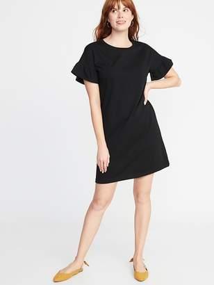 8b0de2d51921 Old Navy Ruffle-Sleeve Tee Dress for Women