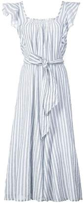Apiece Apart striped midi dress