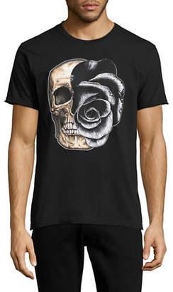 Dom Rebel Rose Skull T-Shirt