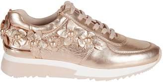 Michael Kors Allie Floral Applique Sneakers