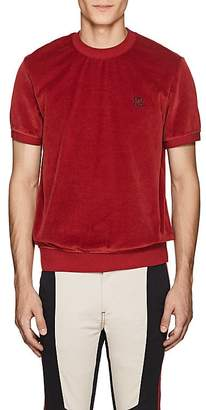 Givenchy Men's Embroidered Cotton-Blend Velour T-Shirt