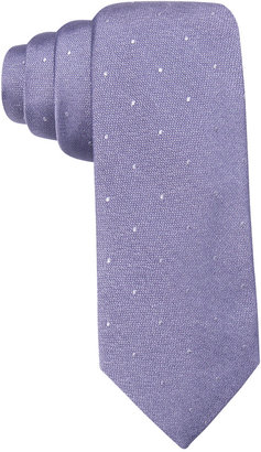 Ryan Seacrest Distinction Men's Napa Tonal Dot Slim Tie, Created for Macy's $59.50 thestylecure.com