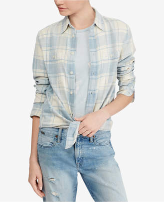 Polo Ralph Lauren Relaxed Fit Plaid Cotton Shirt