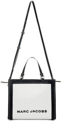 Marc Jacobs White The Box Shopper Bag