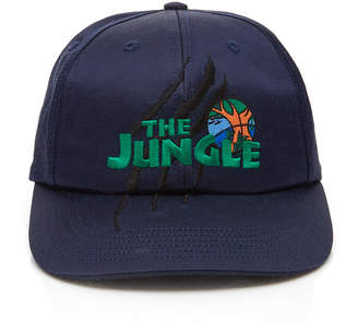 JUST DON The Jungle Embroidered Satin Baseball Hat