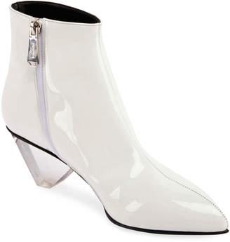 Balmain Lottie Shiny Zip Boots
