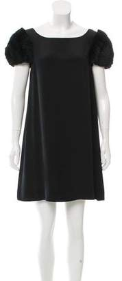 Tara Jarmon Silk Mini Dress