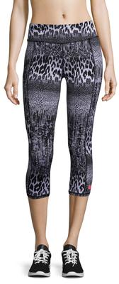 Animal Lace Embroidered Capri Legging $58 thestylecure.com