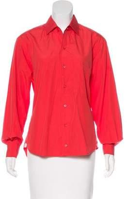 Loro Piana Long Sleeve Button-Up Top