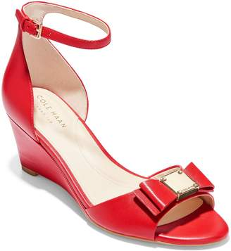 Cole Haan Tali Bow Wedge Sandal