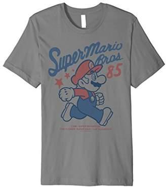 Nintendo Super Mario Bros '85 Vintage Stars Premium T-Shirt