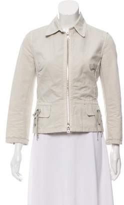 Prada Sport Zip-Up Lightweight Jacket