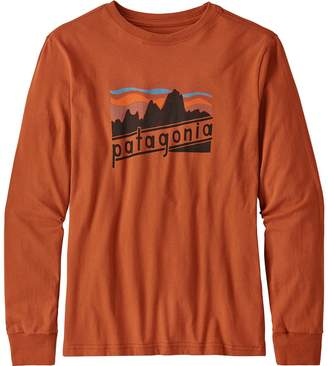 Patagonia Graphic Organic Long-Sleeve T-Shirt - Boys'
