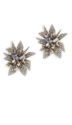 Alexis Bittar Perennial Punk Earrings $345 thestylecure.com