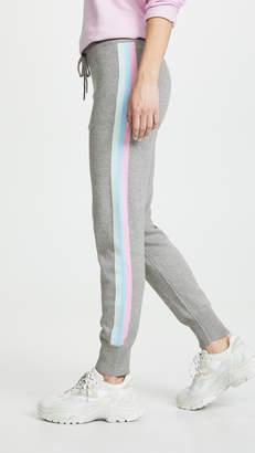 Spiritual Gangster Stripe Slim Sweater Joggers