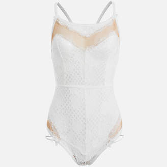 For Love & Lemons Women's Daffodil Lace Body Suit