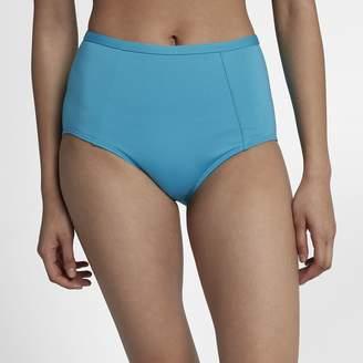 Nike Solid High Waist Women's Swim Bottoms