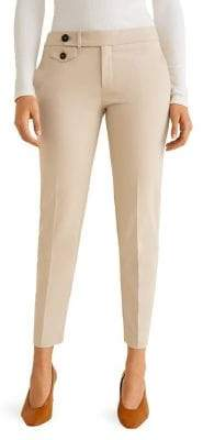 MANGO Classic Suit Trousers