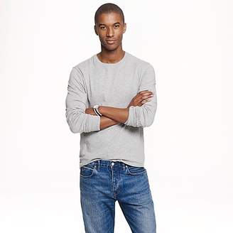 J.Crew Mercantile Broken-in long-sleeve T-shirt in heather grey