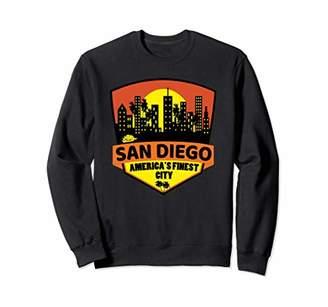 Skyline San Diego Pullover Sweatshirt America's Finest City