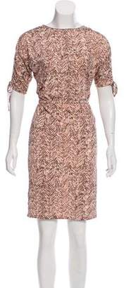 Ellen Tracy Printed Knee-Length Dress