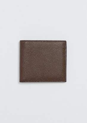 Thom Browne Pebble Grain Billfold Wallet