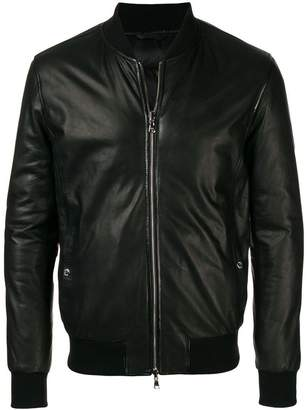 Barba classic zipped jacket