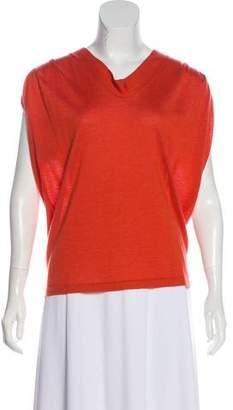 Derek Lam Cashmere & Silk-Blend Knit Top