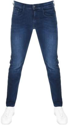 ed05fee94 Replay Slim Fit Anbass Jeans Navy