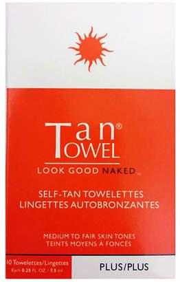 TanTowel Self-Tan Towelettes Ten-Pack Plus