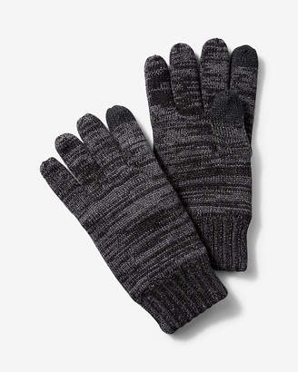 Express Plaited Tech Touchscreen Compatible Gloves