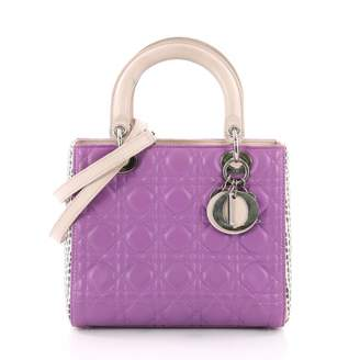Christian Dior Lady python crossbody bag