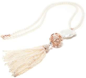 Matara - Gala XL Signature Necklace Rose Gold