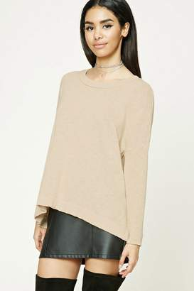 Forever 21 Purl Knit Boxy Top