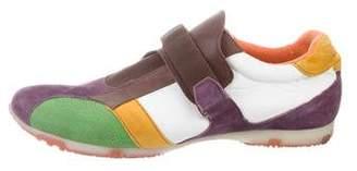 Etro Strap Round-Toe Sneakers