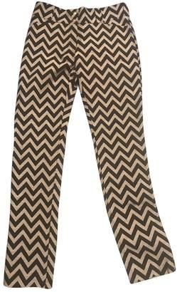 Heimstone Black Cotton Trousers for Women