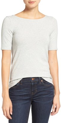 Women's Madewell Chorus Scoop Back Tee $42 thestylecure.com