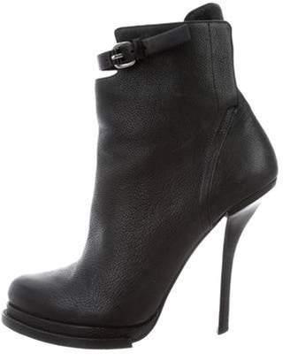 Alexander Wang Platform Ankle Boots Black Platform Ankle Boots
