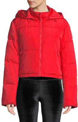 Alo Yoga Introspective Quilted Cropped Jacket