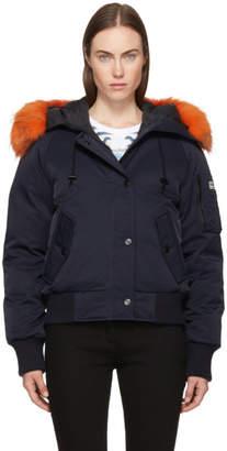 Kenzo Navy Down Puffa Jacket