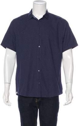 Michael Kors Woven Dotted Shirt