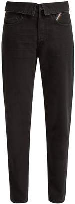 Atelier JEAN Flip fold-over jeans