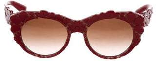 Dolce & Gabbana Cat-Eye Tinted Sunglasses